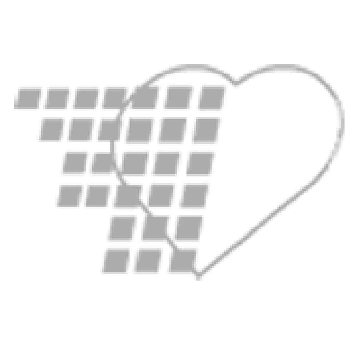 05-87-2000-12FR - Pocket Nurse® Closed Insert Foley Tray Non-Sterile