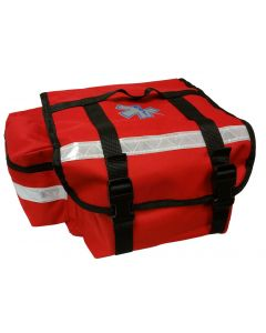 01-12-1401 MTR Deluxe Response Medical Bag, Red