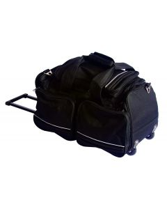 01-12-827-BLK Pocket Nurse® Wheeled Duffel