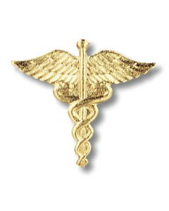 01-77-1020 Caduceus Pin