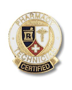 01-77-1037 Certified Pharmacy Technician Pin