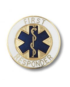 01-77-1091 First Responder Pin