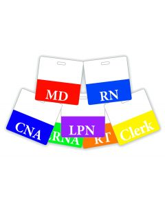 01-77-325 Pocket Nurse® Simulation Role Play ID Card - Horizontal