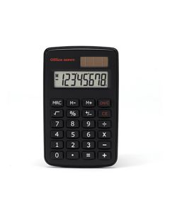 01-77-9425 Office Depot® Brand Mini Calculator 8-Digit Display - Black