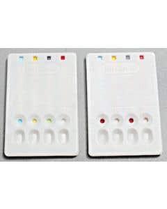 02-19-3181 Erycard ABO/Rh Blood Typing Card