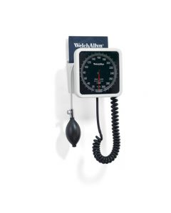 02-20-7670P Welch Allyn  Wall Aneroid with 1-piece Adult Cuff