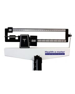 02-33-402 Mechanical Beam Scale with Height Rod - Pounds only
