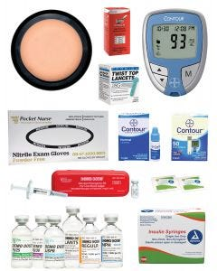 02-38-1238 Pocket Nurse® Diabetes Education Kit