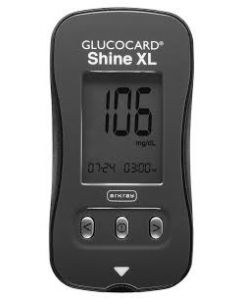 02-38-2110 GLUCOCARD® Shine XL Glucometer