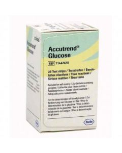 02-38-5160 Accutrend® Plus Glucose Test Strips