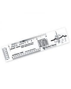 02-43-211-CLR Pocket Nurse® ECG Ruler