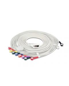 02-43-7582 ECG Cable (Snap Style AHA)