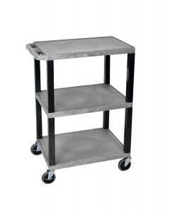 02-43-8008 ECG Utility Cart - Gray