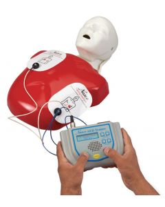 02-44-3742 Nasco Life/form® AED Trainer with Basic Buddy™ CPR Manikin