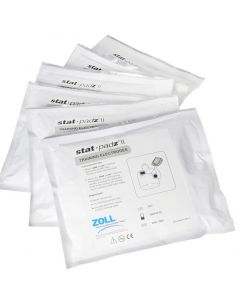 02-44-8900 Zoll AED Plus® Training Electrodes Stat Padz 2