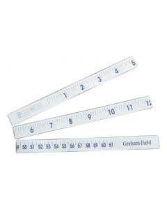 "02-92-1335 Graham Field Disposable Paper Tape Measure - 36"""