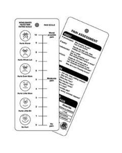 02-92-2500 Pocket Nurse® Pain Scale Assessment Card