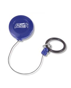 03-04-9608 PURELL™ PERSONAL™ Gear Retractable Clip For 2 fl oz PURELL™ Pump or Squeeze Bottles