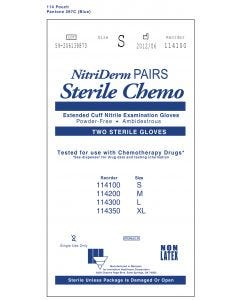 03-47-1141 Innovative Healthcare Corporation NitriDerm® EC Sterile Chemo Pairs