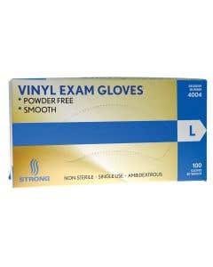 03-47-4500 Strong Vinyl Exam Gloves