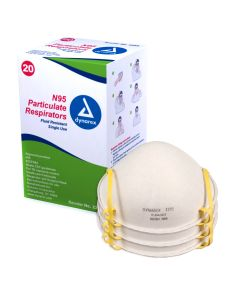 03-75-2295 N95 Particulate Respirator Mask - Molded