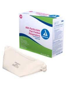03-75-2296 N95 Particulate Respirator Mask - Flat
