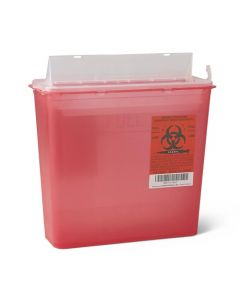 03-78-1020 5 Quart Sharps Container - Red