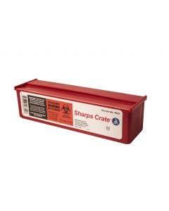 03-78-4631 Sharps Transportable Crate - 0.5 Qt.