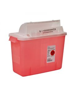 03-78-8537 SharpSafety™ Safety In-Room Sharps Container with Counter Balance Lid