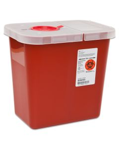 03-78-8990 Sharps Container with Hinged Lid