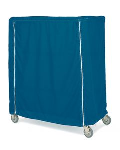 04-25-2570 Five-Shelf Chrome Manikin Storage Cart