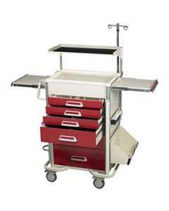 04-25-8201 6 Drawer Emergency Cart Package