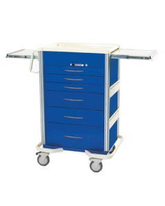 04-25-8205 7 Drawer Cart with Push Button Lock
