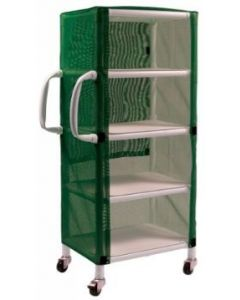 04-25-8524 Graham-Field PVC Linen Cart with Mesh Cover