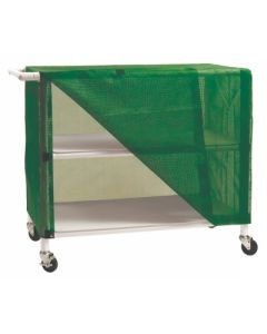 04-25-8525 Graham-Field PVC Linen Cart with Vinyl Cover