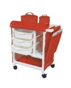 04-25-8537 Graham Field CPR Board & Bag for Emergency Crash Cart