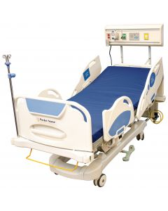 04-50-0236 Training Bed with attached Horizontal Headwall Sapphire Series - Functional