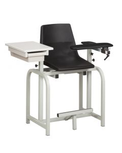 04-50-0572 Clinton Designer Blood Drawing Chair with Drawer