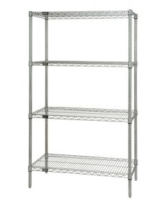 04-50-1848P Chrome Wire Starter Shelf Unit