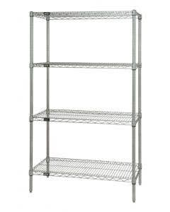 04-50-1848P Chrome Wire Starter Shelf Unit