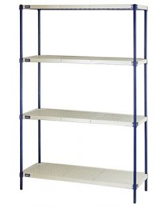 04-50-2448 Plastic Mat-Wire Shelving Unit
