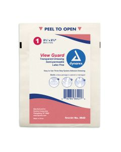 05-51-3642P View Guard Transparent Dressing Sterile