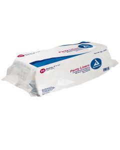 "05-55-1335 Panty Liners Sq End with Adhesive Tab - 4"" x 11"" (21 g)"