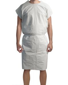 05-75-8101P 3-Ply Tissue Exam Gown