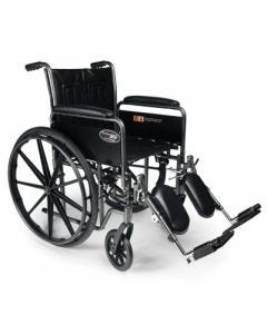05-76-1010 Graham-Field Wheelchair with Swingaway Footrests - 18 x 16