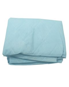 05-84-3541 Disposable Blue Non Woven Blanket - 44in x 84in