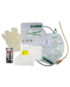 05-87-8314 Closed Insert Sterile Foley Tray Sterile - 14 Fr