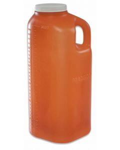 05-87-9000 24 Hour Collection Bottle Urine Amber
