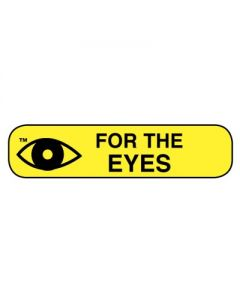 06-31-14 Pharmacy Instruction Label - For the Eye