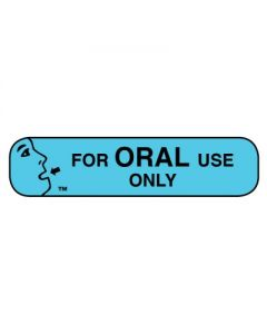 06-31-51 Pharmacy Instruction Label - For Oral Use Only Instructional
